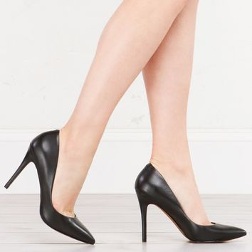 CHARLES DAVID SEXY LEATHER PUMPS POINTED PUMPS - What's New