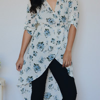 Cali Floral Tunic (Ivory)