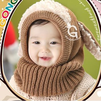 Toddler Kids baby Girls Boys Winter hat and Scarf