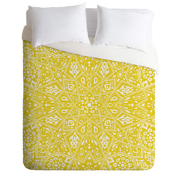 Aimee St Hill Amirah Yellow Duvet Cover