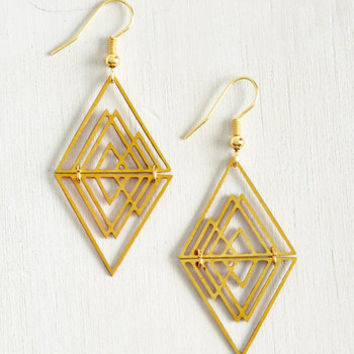 Majestic Moxie Earrings by ModCloth