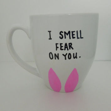 "Louise Belcher ""I Smell Fear on You"" Bob's Burgers Mug 16oz."