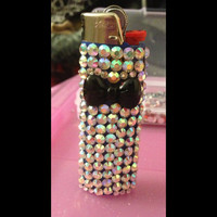 Adorable diamond bow lighter by myfrostedcupcakee on Etsy