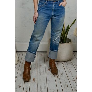 Vintage Faded Wrangler Jeans 32x31