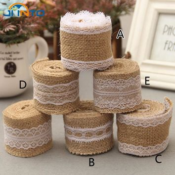 14 Kinds Burlap Ribbon Vintage Wedding Centerpieces Decoration