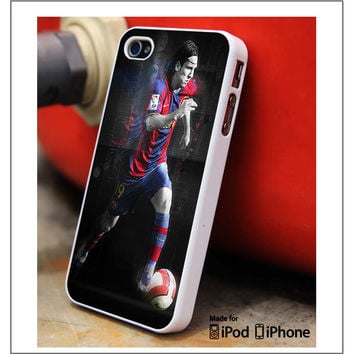 Lionel Messi Barcelona iPhone 4s iPhone 5 iPhone 5s iPhone 6 case, Galaxy S3 Galaxy S4 Galaxy S5 Note 3 Note 4 case, iPod 4 5 Case