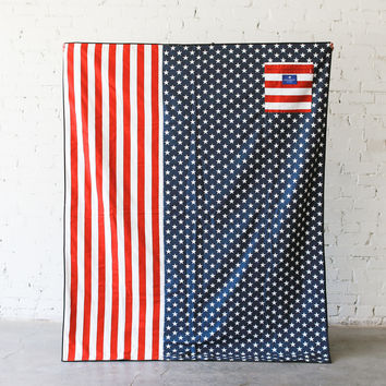 Stars & Stripes Picnic Blanket