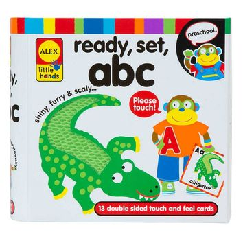 Alex Ready, Set, ABC Learning Flash Cards
