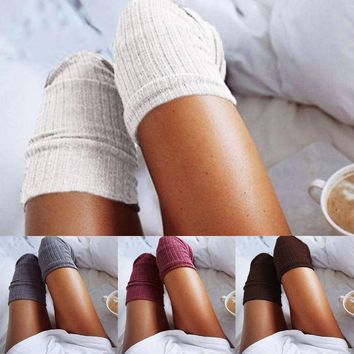 Over The Knee Thigh High Soft Socks