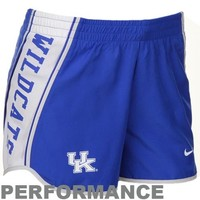 Nike Kentucky Wildcats Ladies Royal Blue Pacer Performance Shorts