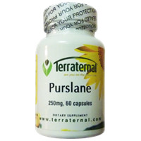 Terraternal : Products : Purslane - 250 mg, 60 capsules