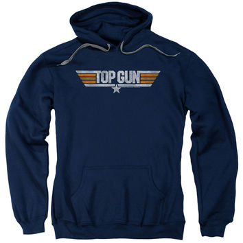 Top Gun/Distressed Logo