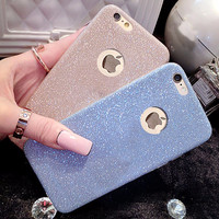 Ultra Thin Glitter Bling Cute Candy Cover For iPhone 6 Case Crystal Soft Gel TPU Phone Cases For iPhone6 6S 5 5S 6 Plus 6SPlus