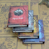 New Harry Potter Vintage Notebook/Diary Book/Hard Cover Note Book/Notepad/Agenda Planner Gift