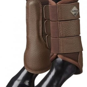LeMieux Mesh Brushing Boot - Brown