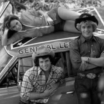 "Dukes Of Hazzard Poster Black and White Poster 24""x36"""