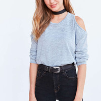 Silence + Noise Kaitlyn Cold-Shoulder Sweater - Urban Outfitters
