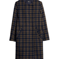 Checked Coat - from H&M