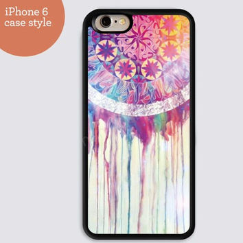 iphone 6 cover,dream catcher pink watercolor iphone 6 plus,Feather IPhone 4,4s case,color IPhone 5s,vivid IPhone 5c,IPhone 5 case Waterproof 277