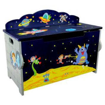Fantasy Fields Outer Space Kids Toy Box | www.hayneedle.com