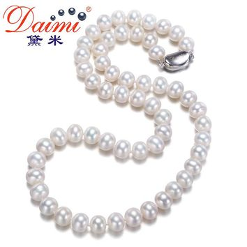 Women Favorite Freshwater Pearl Necklace  Natural Pearl Choker Necklace
