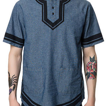 The Division Dashiki in Indigo