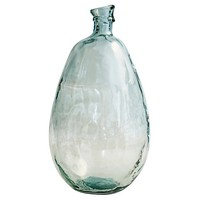 "Threshold™ Vase Slant Top Blue - 18.5"" H"