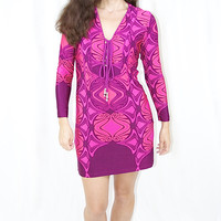 Analili Pink Jewel Dress
