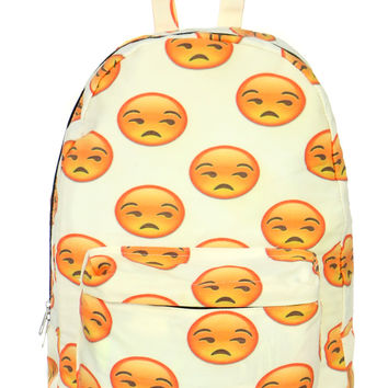 F U EMOJI BACKPACK