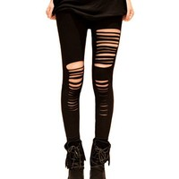Sexy Punk Stripes Style Leggings on Luulla