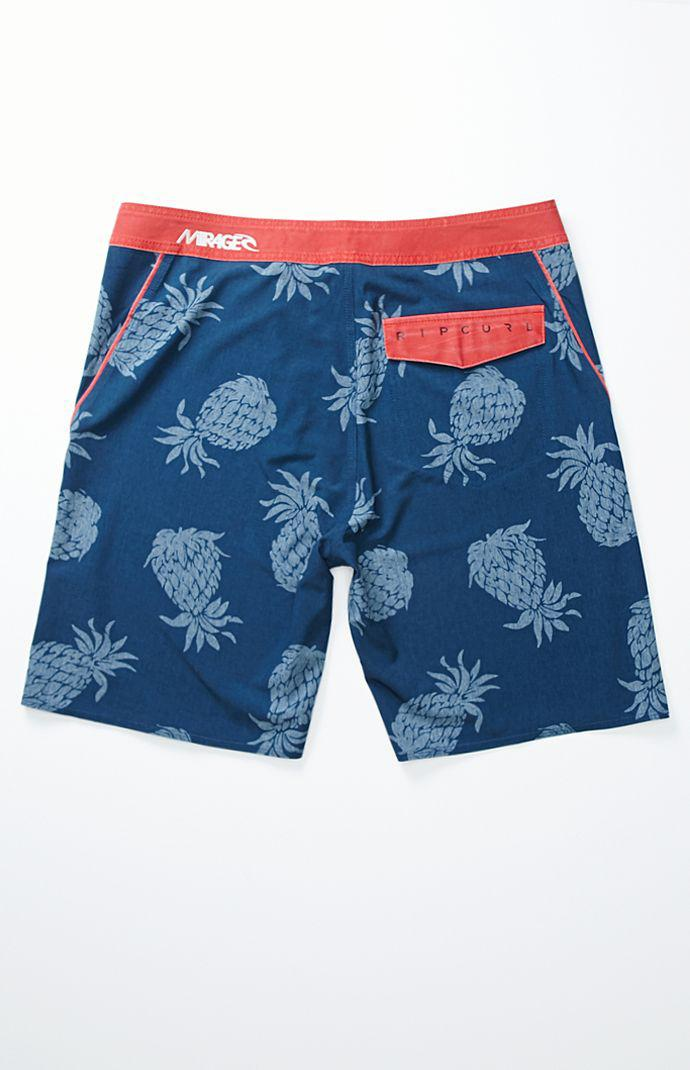 6f644c34fe Rip Curl Mirage Aggro Pineapple Boardshorts - Mens Board Shorts - Blue