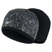 Nike Run Lotus Reversible Running Knit Hat (Black)