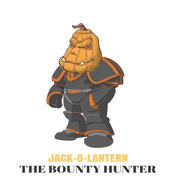 JACK-O-LANTERN The Bounty Hunter by corey deshawn turner