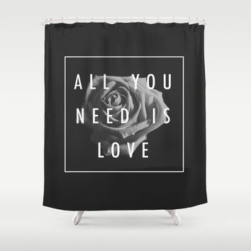 Needy Shower Curtain by DuckyB (Brandi)