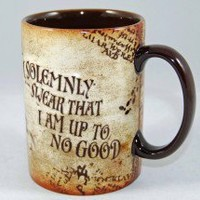 Wizarding World of Harry Potter Marauder's Map Mug