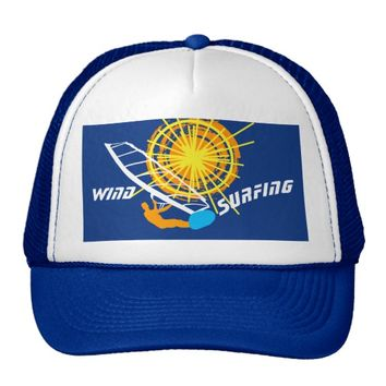 Wind Surfing customizable Trucker Hat