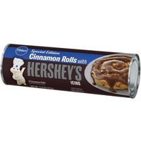 Pillsbury Cinnamon Rolls with Hershey's Icing, 8 count, 12.4 oz - Walmart.com