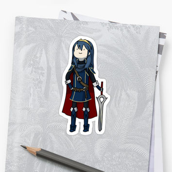 'Fire Emblem Awakening Lucina Sticker' Sticker by Cycha