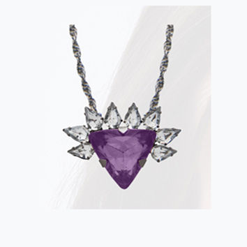 Ammunition Necklace Purple
