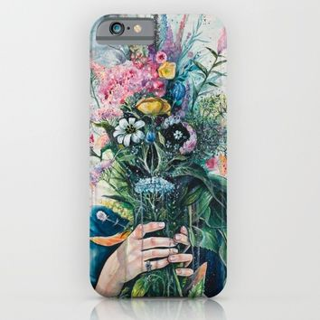 The Last Flowers iPhone & iPod Case by Tanya Shatseva
