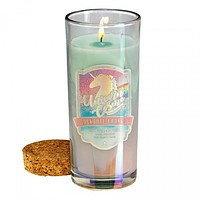 Unicorn Cosmo Cocktail Jar Candle with Cork