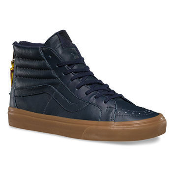 Vans, Hiking Sk8-Hi Reissue Zip Shoe - Navy - Footwear - MOOSE Limited