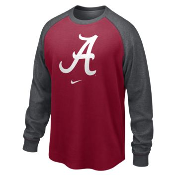 Nike College People's Waffle (Alabama) Men's Shirt Size Small (Grey)