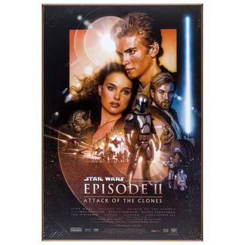 Star Wars Episode II MDF Movie Poster | Hobby Lobby | 1136480