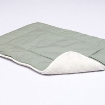 DOG BEDS & LOUNGERS - CRATE PAD - ECO GREEN  X-SMALL - 15X20