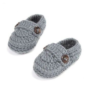 Handmade Crochet Booties Baby Shoes 10 cm