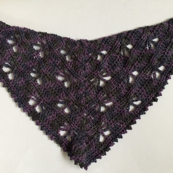 Butterfly crochet shawl, shawl for girls, spring shawl