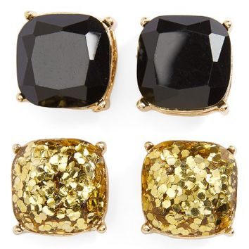 BP. Square Stud Earrings (Set of 2) | Nordstrom