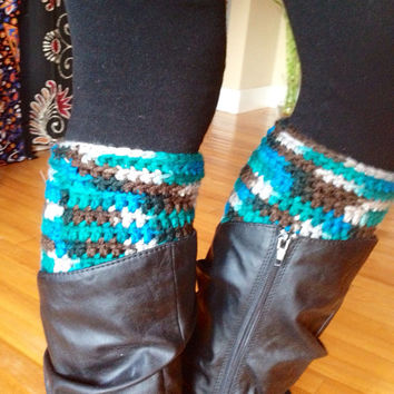 Crochet Boot Cuffs Boho Clothing Dance Clothes Boot Socks Crochet Leg Warmers Crochet Boot Socks Leg Warmers Boot Cuffs
