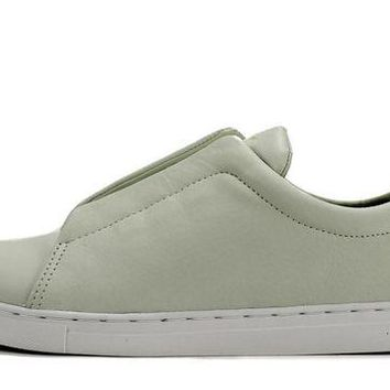 ONETOW Creative Recreation for Men: Turino White Leather Sneaker